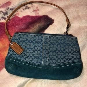 Coach Wallet Wristlet Good Condition